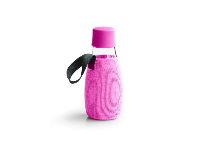 Obal na Eco fľašu ružový - Retap