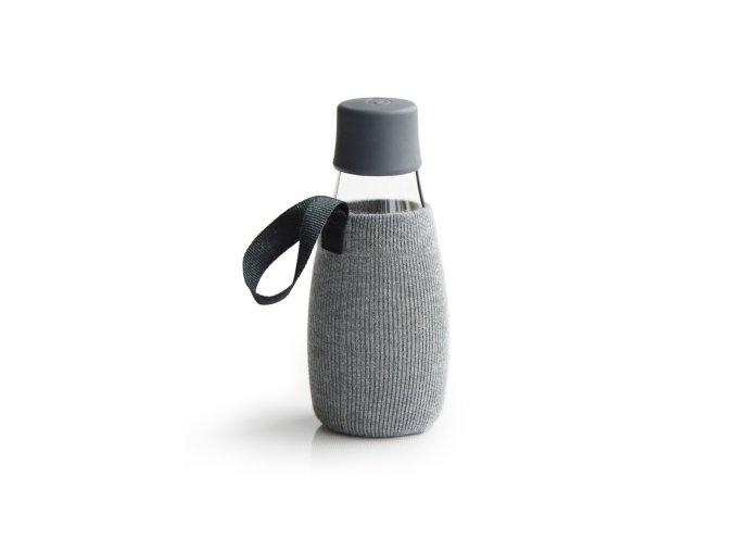 Obal na Eco fľašu šedý - Retap