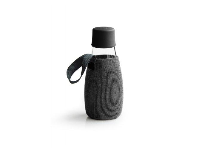 Obal na Eco fľašu čierny - Retap