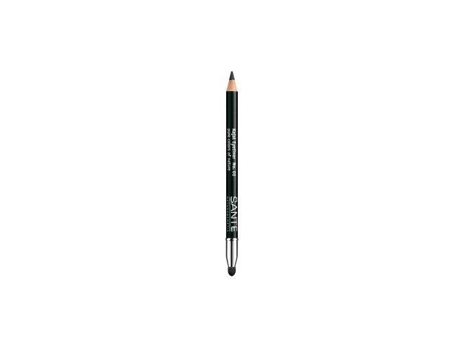 Ceruzka na oči 08 Deep black - Sante