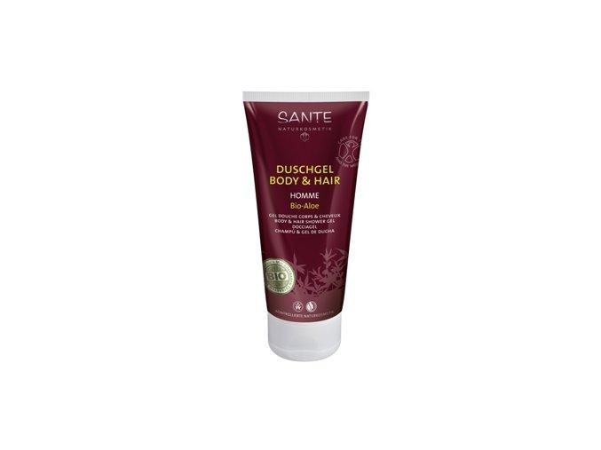 Homme Sprchový gél a šampón Sante