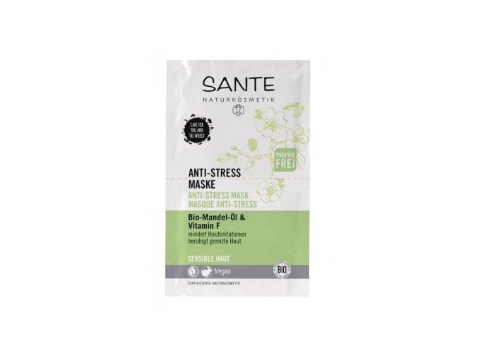 Anti stress pleťová maska - Sante