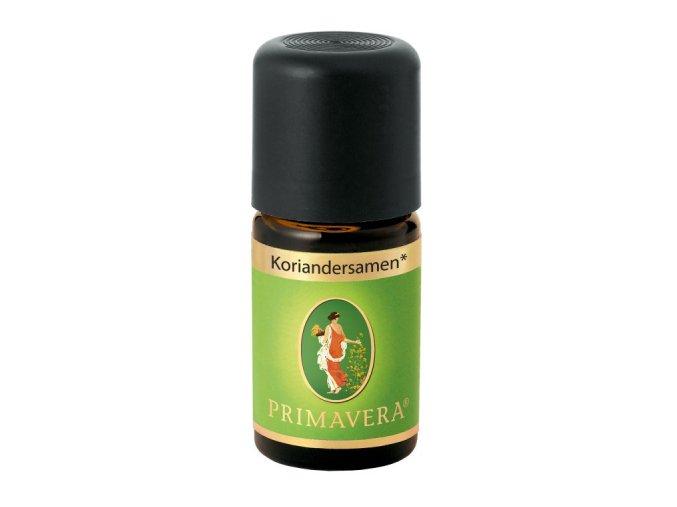 etericky olej koriander