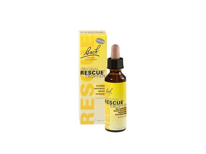 rescue remedy bez alkoholu