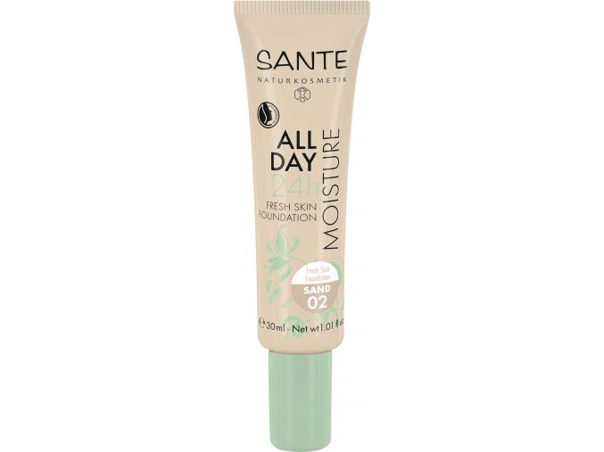 43271 All Day Moisture 24h Fresh Shin Foundation 02 sand