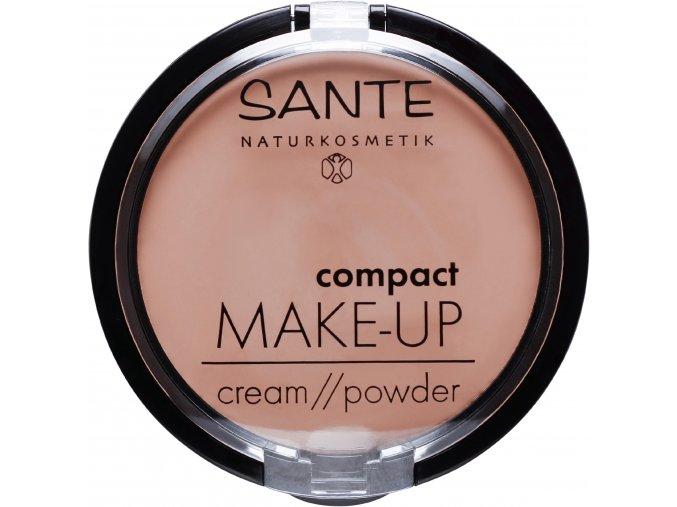 kompaktny make up 01 vanilla sante