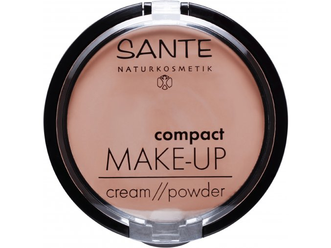 kompaktny make up 02 beige sante