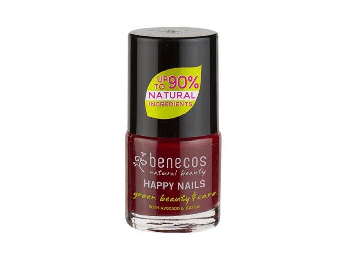 lak na nechty cherry red benecos