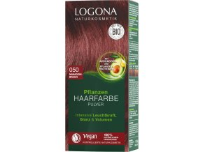 praskova farba na vlasy mahagon 1