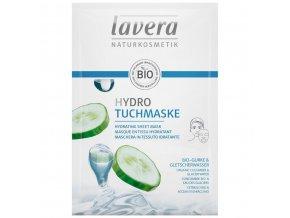 hydratacna textilna maska lavera