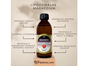 lipozomalne magnezium vysokovstrebatelne