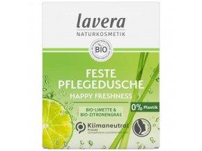 tuhy sprchovy gel happy freshness lavera
