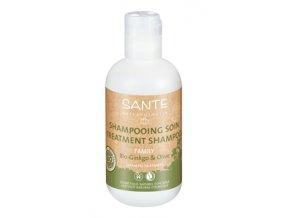 Ošetrujúci šampón BIO ginko a oliva - Sante