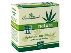 Natura hydratačné mydlo - Cannaderm