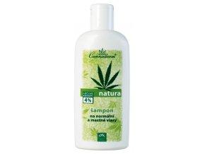 Natura šampón na normálne a mastné vlasy - Cannaderm