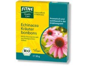 BIO bylinné cukríky s echinaceou Fitne