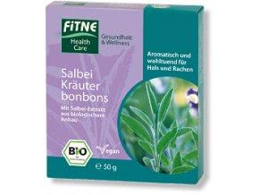 BIO bylinné cukríky so šalviou Fitne
