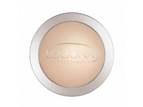 Kompaktný púder 01 light beige LOGONA
