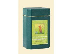 Čaj básnikov života - Taiwanský nefermentovaný zelený čaj - cui yu cha TCM Herbs