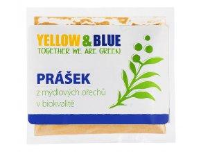 Prášok z mydlových orechov Yellow & Blue