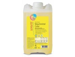 Tekutý prostriedok na pranie COLOR mint & lemon Sonett 5l