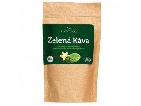 zelena kava s vanilkou