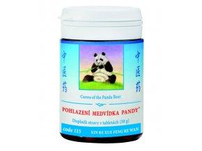 POHLADENIE MEDVEDÍKA PANDY - XIN/XUE RE FENG WAN mod. - TCM Herbs