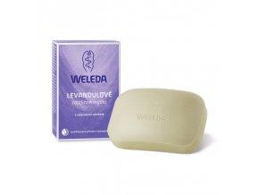 Levanduľové rastlinné mydlo Weleda