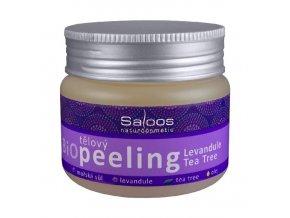 Telový peeling Levanduľa -Tea Tree - Saloos