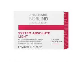 Denný krém Systeme Absolute LIGHT na zrelú pleť - Annemarie Borlind