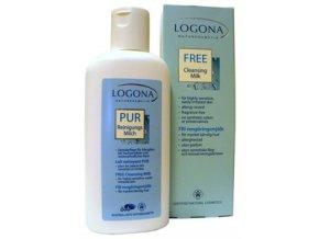 Pleťové čistiace mlieko na citlivú pokožku LOGONA FREE