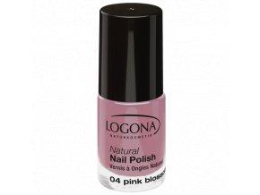 Lak na nechty 04 Pink Blossom LOGONA