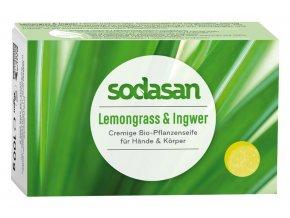 tuhe mydlo lemongrass sodasan