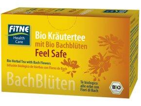 BIO Bylinný čaj z kvetov Dr. Bacha Feel Safe - Fitne