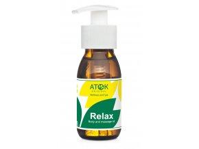 Telový a masážny olej Relax - Original ATOK