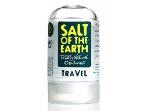 Tuhý deodorant Soľ Zeme - Crystal Spring