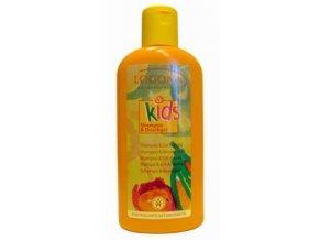 Sprchový gél a šampón Broskyňa Logona Kids