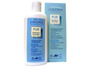 Šampón a sprchový gél LOGONA FREE