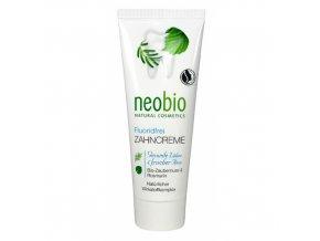 Zubná pasta bez fluoridu - Neobio