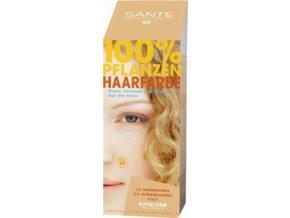 Sante prášková farba na vlasy - blond