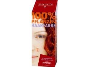 Sante prášková farba na vlasy - červená