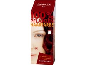 Sante prášková farba na vlasy - mahagónová