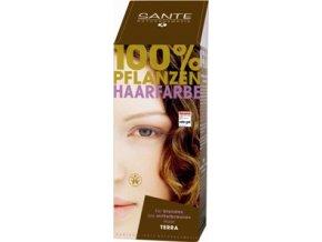 Sante prášková farba na vlasy - terakotová