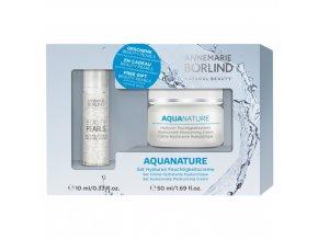 AKCIA 24h Hyalurónový hydratačný krém - Annemarie Borlind 50 ml  + Beauty Pearls Moisture sérum 10 ml ZDARMA