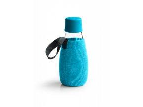 Obal na Eco fľašu azúrový - Retap