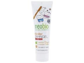 Detský zubný gél BIO jablko & BIO papája - Neobio