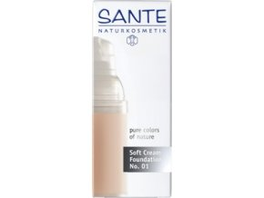 Krémový make-up - 01 porcellain Sante