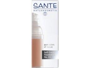 Krémový make-up - 03 sunny beige Sante