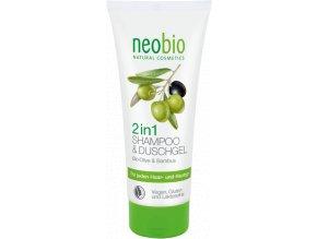 sampon a sprchovy gel 2v1 neobio 718