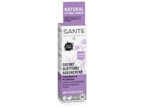 Rozjasňujúci očný krém Anti wrinkle - Sante
